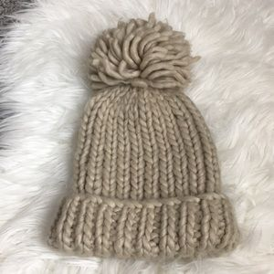 Mossimo Wooly Hat with Large Pom Pom
